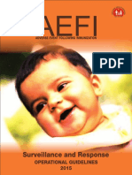 AEFI Surveillance and Response Operational Guidelines 2015