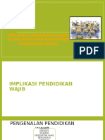 Implikasi Pendidikan Wajib Di Msia Dan Peraturan Pendidikan