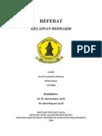 Referat Kelainan Refraksi Dyah-16710018