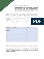 Comisión de Actividades en Viaje de Familiarización Al Estado de Hidalgo