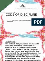 Code Dicipline