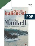 Henning Mankell - Pantofi italienesti.docx