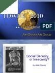 Jake Towne - Social In Security Talk in Palmer (June 2010)