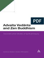 Leesa S. Davis Advaita Vedanta and Zen Buddhism Deconstructive Modes of Spiritual Inquiry Continuum Studies in Eastern Philosophies.pdf