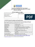 2014 Cohen UF Everglades Metadata