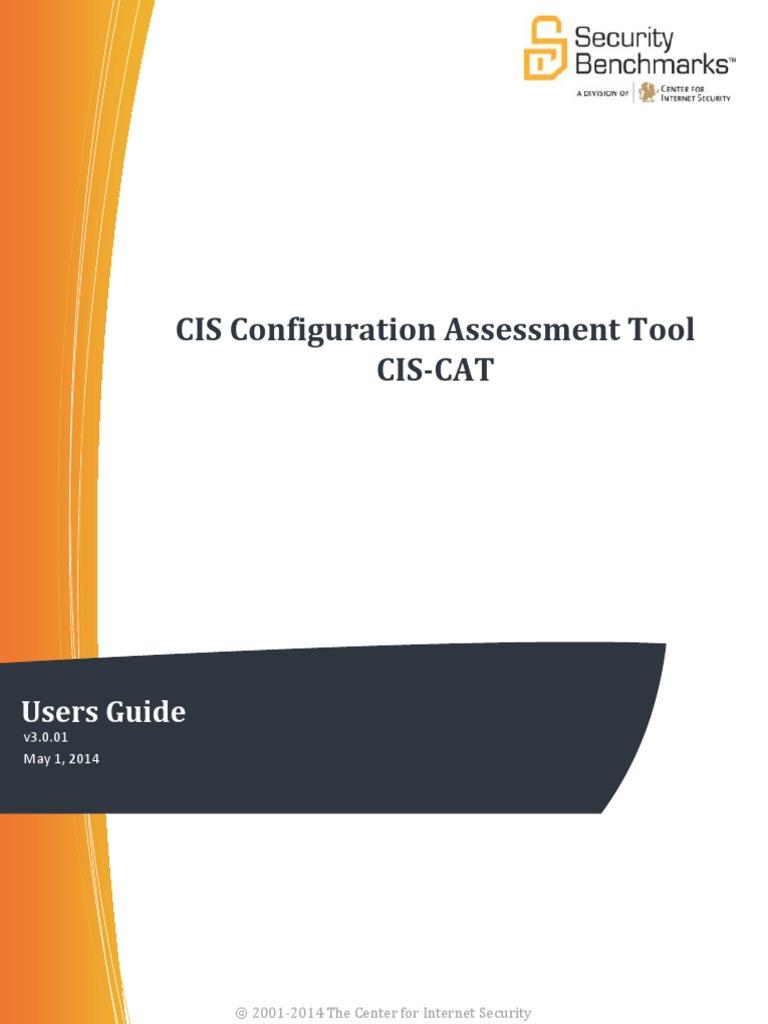 CIS-CATUsersGuide_000 pdf | File Format | Command Line Interface