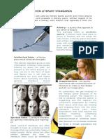 Seven Literary Standards Written Report
