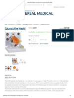 Cataract Eye Model _ Oversized Normal Eye Model GPI 2800