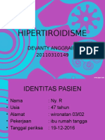 Presentasi Kasus HIPERTIROID