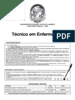 Técnico de Enfermagem-Universidade Federal Do Rio de Janeiro 2