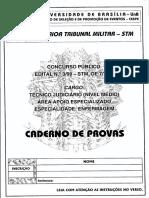 Técnico Judiciário-Enfermagem Superior Tribunal Militar