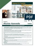 Técnico Judiciário Enfermagem TRT 16Região