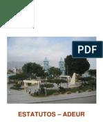 Estatutos ADEUR