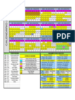 Calendário IFMT