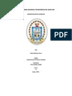 Perfil de Un Espcialista Organizacional