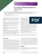 single twin death - An International Journal of Obstetrics & Gynaecology