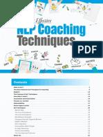 The Most Effective Coaching Techniques