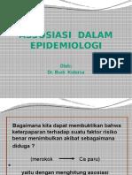 Kuliah Epid Kbk - Assosiasi Dalam Epidemiologi