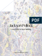 Jackson Pollock e a arte do Action Painting
