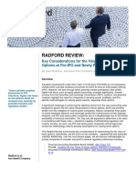Whitepaper IPO Valuation of Stock Options Considerations