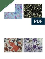 Batik Flora Dan Fauna Tugas Sbk