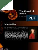 The Classical Period Final