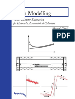 Friction Modelling and Parameter Estimation for Hydraulic Asymmetrical Cylinders