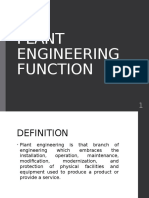 2.0 Plant Engineering Function
