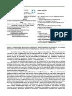 736, 301116, χ, Καlaτηακι μ Educational Science Conference Final Announcement