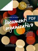 Documento organizativo del equipo de Errejón