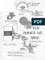 Things We Save by George Sullivan