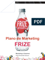 Plano de Marketing da Frize