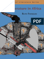 Finnegan Oral Literature in Africa