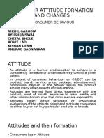 Consumer Attitude Ppt