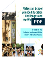 1.Challenges and Issues in Science Education