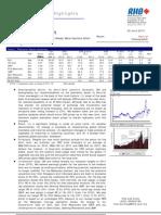 Plantation - No Positive Catalysts Ahead, More Cautious Short-Term Outlook - 30/6/2010