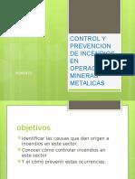 Control y Prevencion de Incendios en Operaciones Mineras