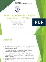 RCS Analysis Simulation
