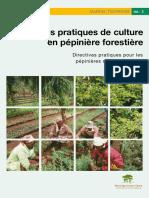 Bonne Pratiques de Culture en Pépinière Forestière