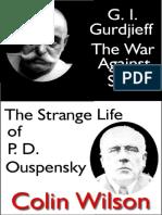 Colin Wilson - Gurdjieff - War Against Sleep Strange Life of PD Ouspensky