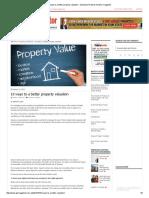 10 Ways to a Better Property Valuation - Australian Property Investor Magazine