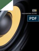 Krk Brochure Monitor