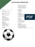 Música Tema da Copa do Mundo 2010-f