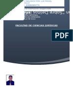 Proyecto de Investigación derecho informatico