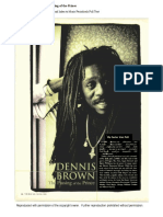 Dennis Brown Article