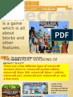 i Love Mincraft Powerpoint