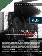 Abhishek Prasad Voice Codes Poster