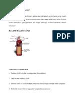 Lokasi Racun API Dan Sop