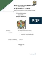 Informe 4 de Mecanica de Fluidos