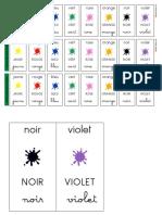 Colores en Frances